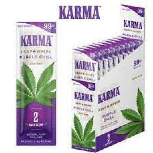 Karma Hemp Wraps Purple Chill 2 for 99c