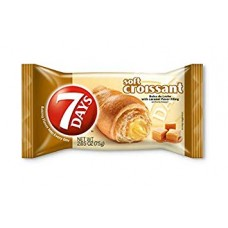 7 Days Croissant Dulce De Leche With Caramel