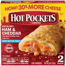 Nestle Hot Pockets Hickory Ham & Cheddar
