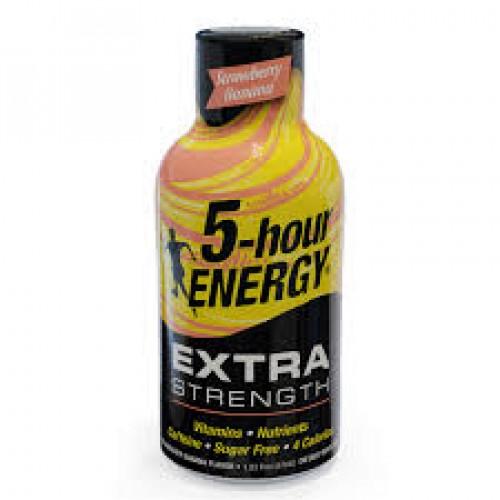 5-Hour Energy Extra Strength Strawberry Banana