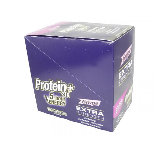 5-Hour Energy Protein Extra Strength Grape