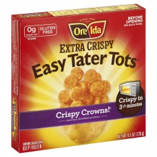Ore Ida Extra Crispy Crowns Seasoned Shredded Potatoes