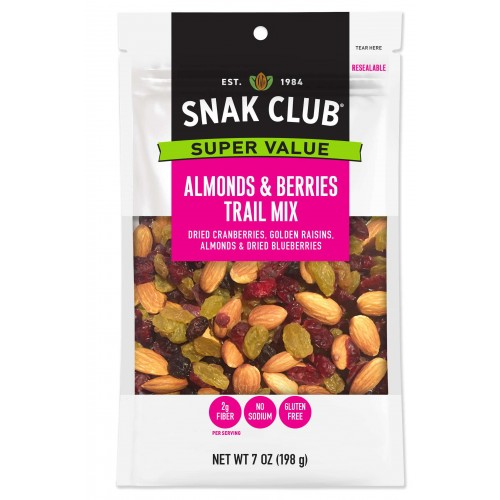 Snak Club Super Value Almonds & Berries Trail Mix