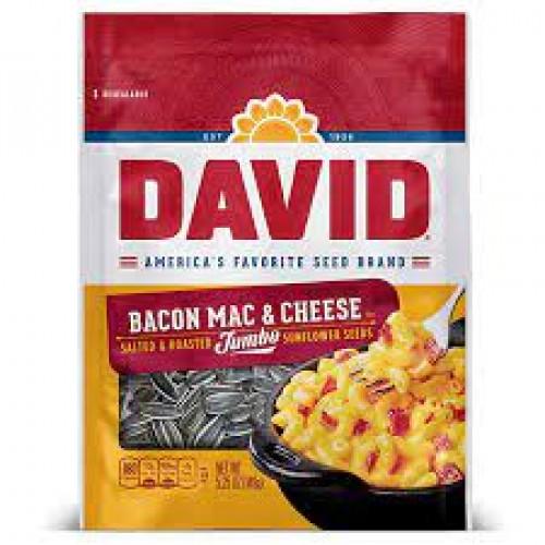 David Sunflower Seeds Bacon Mac & Cheese