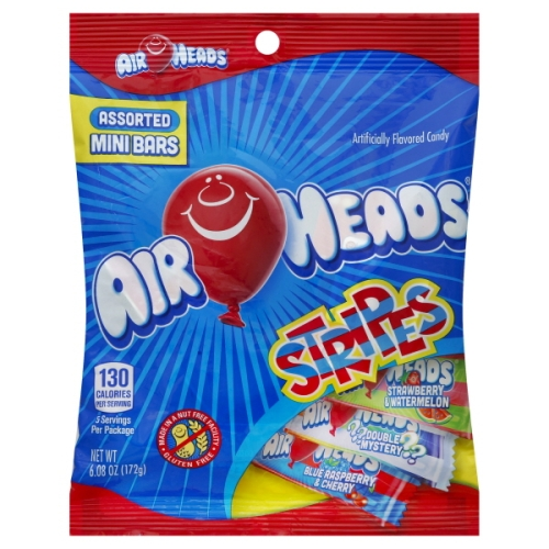 Air Heads Stripes Assorted flavors