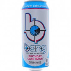 Bang Energy Drink Birthday Cake Bash