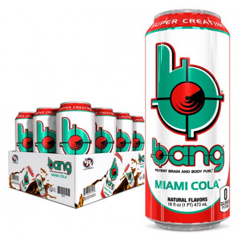 Bang Energy Drink Miami Cola
