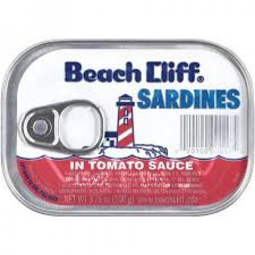 Beach Cliff Sardines In Tomato Sauce