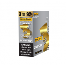 Good Time Cigarillos Diamond- 3 For 92¢