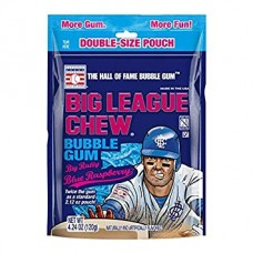 Big League Chew Bubble Gum Blue Raspberry Candy