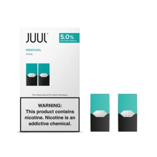 JUUL PODS MENTHOL 5% 2Pk
