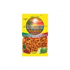 Island Snacks Chile Lemon Peanuts 7.5oz.