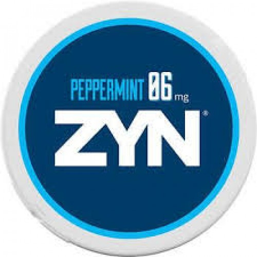 Zyn Peppermint Nicotine Pouches