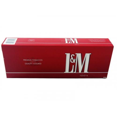 L & M Full Flavor 100'S Box