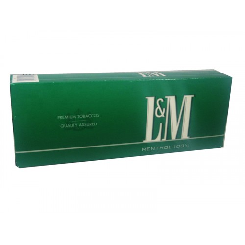 L & M Menthol Box 100