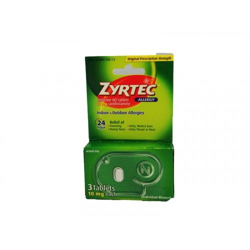 Zyrtec Allergy Tablet