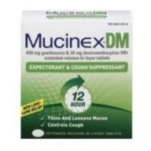 Mucinex DM SIngle Pack Blister