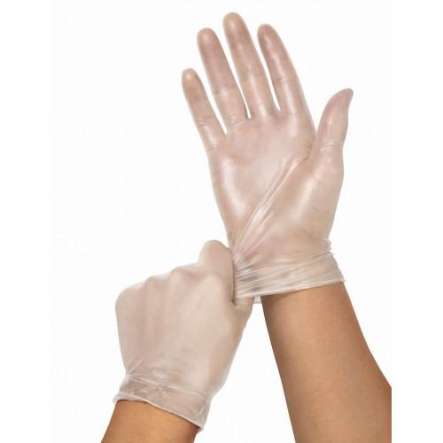 Synthetic Vinyl  Powder Free Gloves