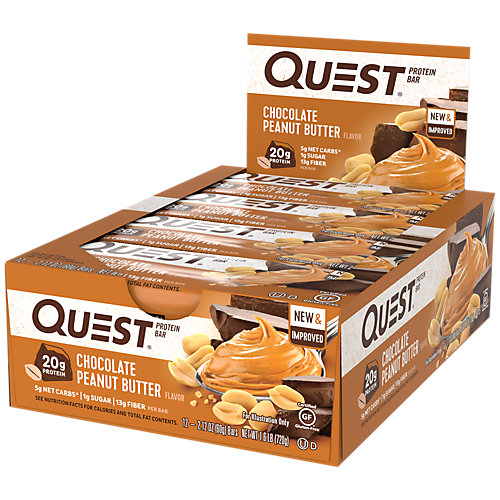 Quest Protein Bar - Chocolate Peanut Butter