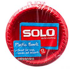 Solo Plastic Bowls 12oz