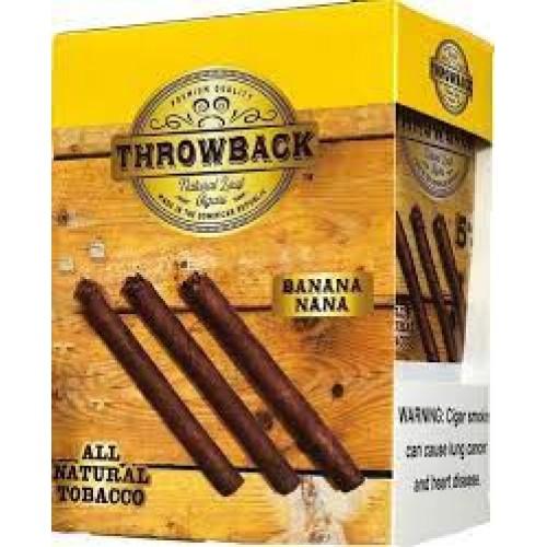 Throwback Natural Leaf Cigars Banana nana