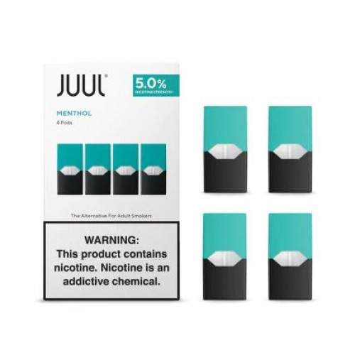 JUUL PODS CLASSIC MENTHOL 5% 4 pack
