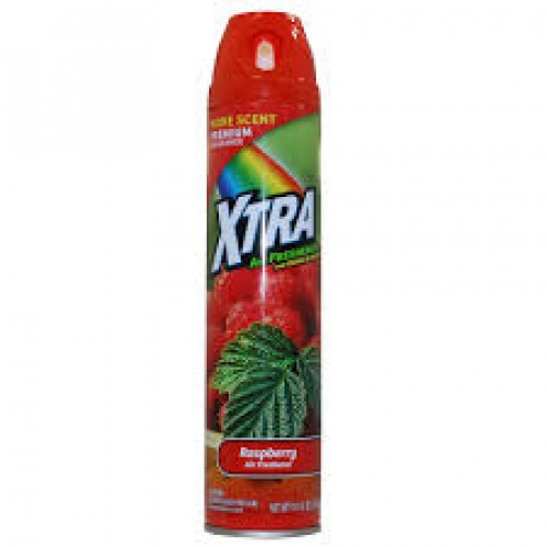 XTra Air Freshener And Odor Eliminator Raspberry