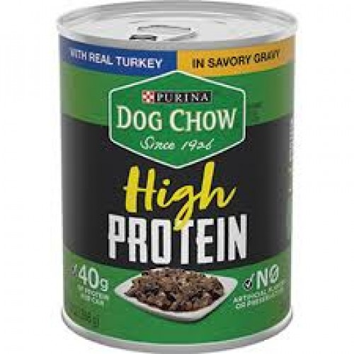 Purina Dog Chow High Protein With Real Turkey