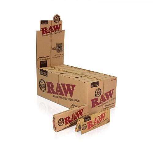 RAW MASTERPIECE CLASSIC 1 /14 SIZE 24 PER BOX