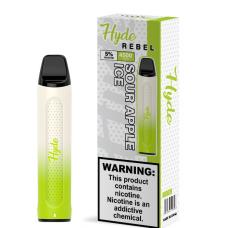 Hyde Rebel Disposable Sour Apple 4500Puffs