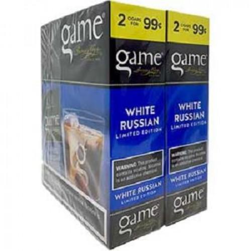 Game Cigarillos White Russian  2/ 0.99c