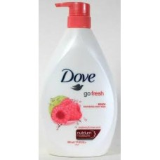 Dove Body Wash Go Fresh Raspberry & Lime Scent 27.05oz