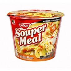 Nissin Souper Meal Flavor Ramen Noodle Soup Chicken