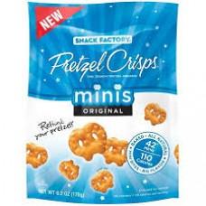 Snake Factory Pretzel Crisps Mini Original
