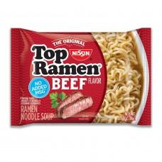 Nissin Top Ramen Noodles Beef