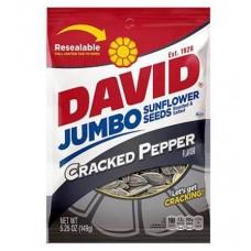 David Jumbo Cracked Pepper Sunflower Seeds
