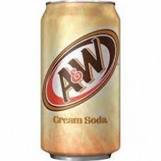 A & W Cream Soda Can 12oz