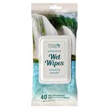 Antibacterial Wet Wipes Refreshing Waterfall
