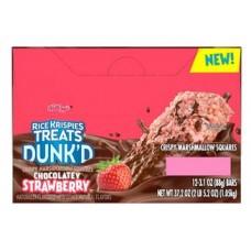 Rice Krispies Treats Dunkd Chocolatey Strawberry