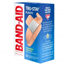 Band-Aid Tru-Stay Plastic Bandages Assorted