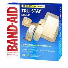 Band-Aid Tru-Stay Sheer Bandages Assorted