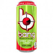 Bang Energy Drink Candy Apple Crisp