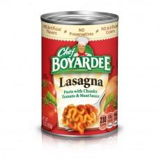 Chef Boyardee Lasagna Can
