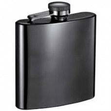 Flask Stainless Steel Leather