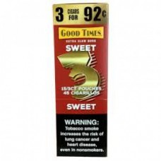 Good Time Cigarillos Sweet 3 for 92¢