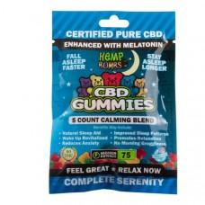 Hemp Bomb CBD Gummies Melatonin Night
