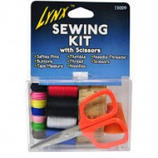 Lynx Sewing Kit With Scissors