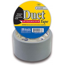Bazic Duct Tape Silver 1.89
