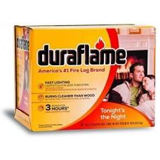 DURAFLAME FIRELOGS ALL NATURAL BURNS
