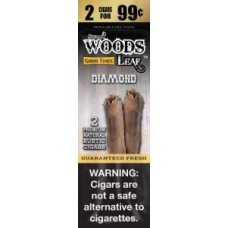 Good Times Sweet Woods Leaf Diamond 2 for 99c